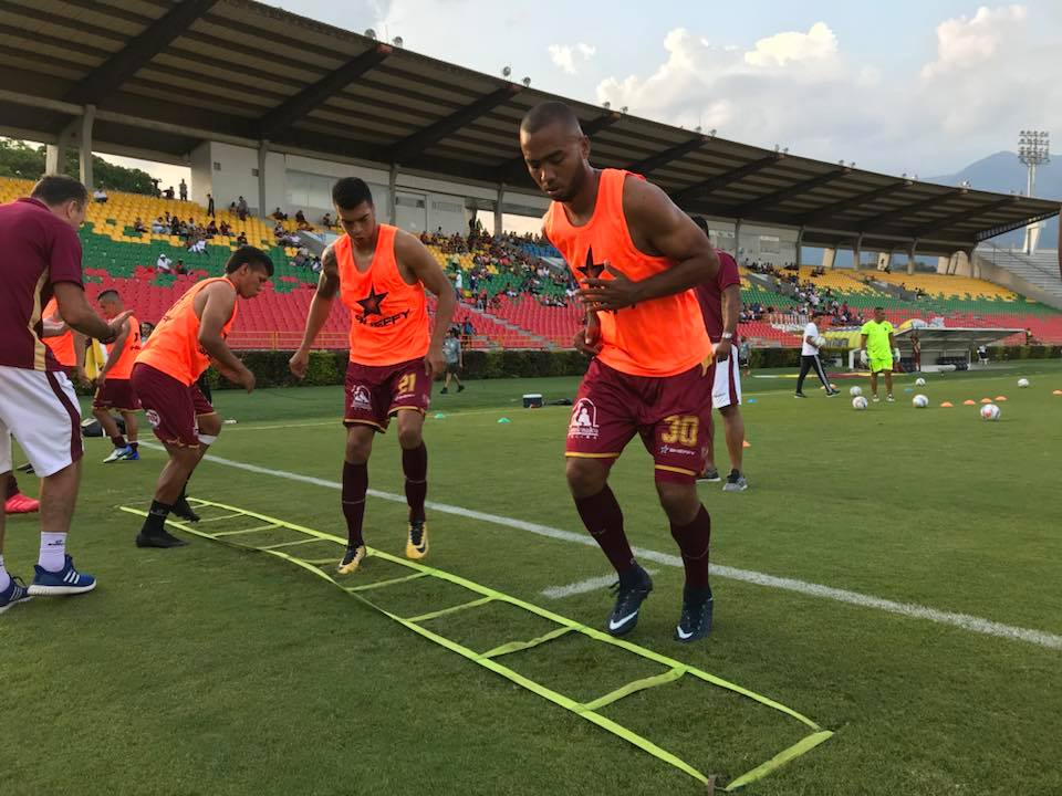 Luis Payares, defensa central del Deportes Tolima, 2018