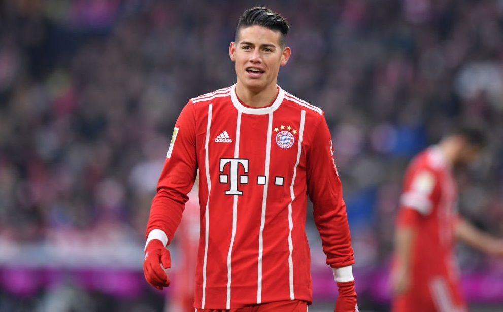 James Rodríguez, Bayern Munich, 2018