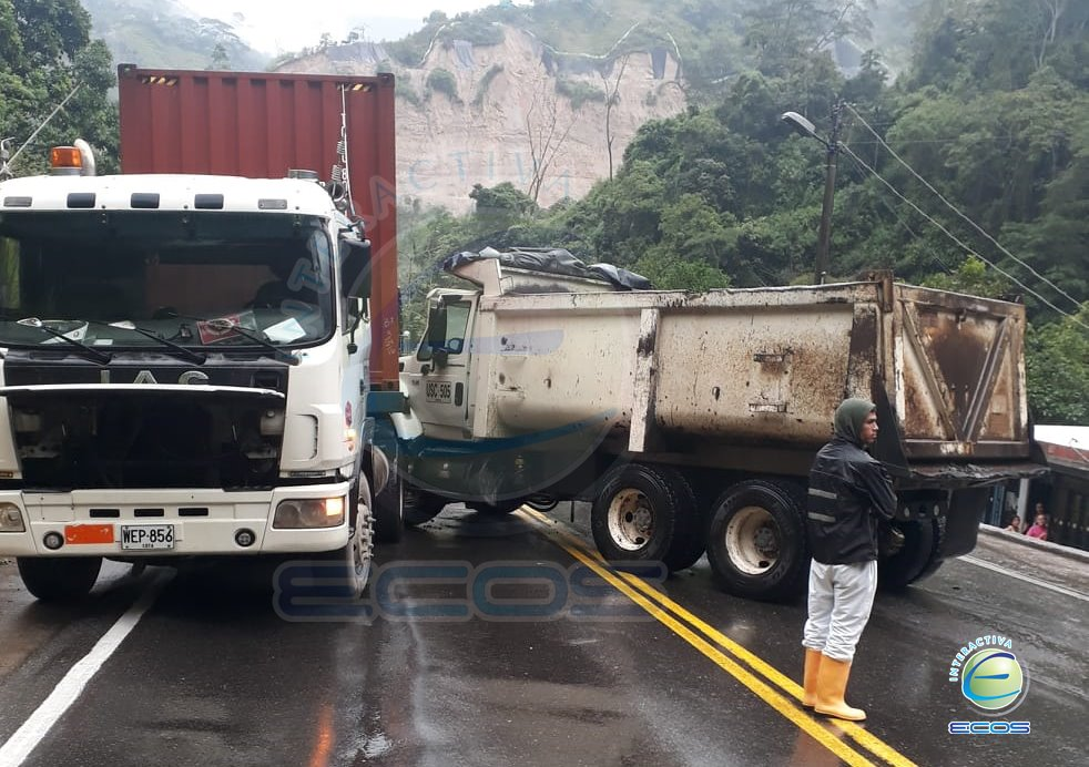 Cierre via accidente Cajamarca