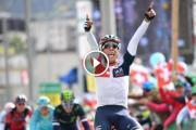 En video: la emocionante victoria de Jarlinson en el Tour