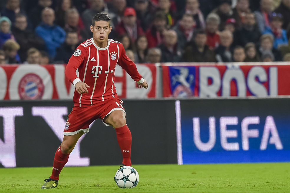 James Rodríguez, Bayern Múnich HD