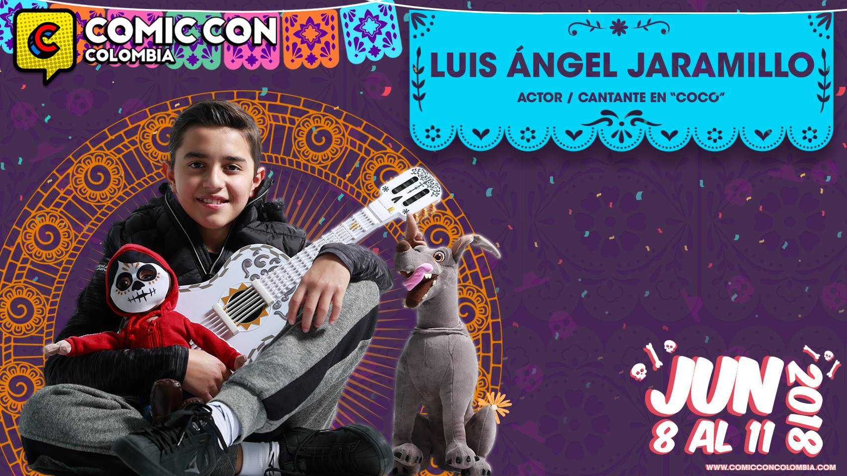 Luis Ángel Jaramillo Comic Con HD