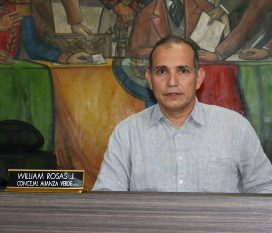 William Rosas, presidente del Concejo de Ibagué