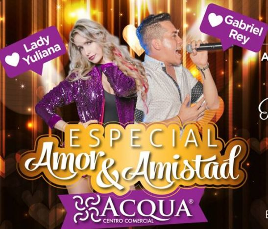 No se pierda el súper especial de Amor & Amistad en Acqua Power Center