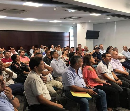 Grupo de trabajo del C.D se reunió en el World Trade Center Ibagué