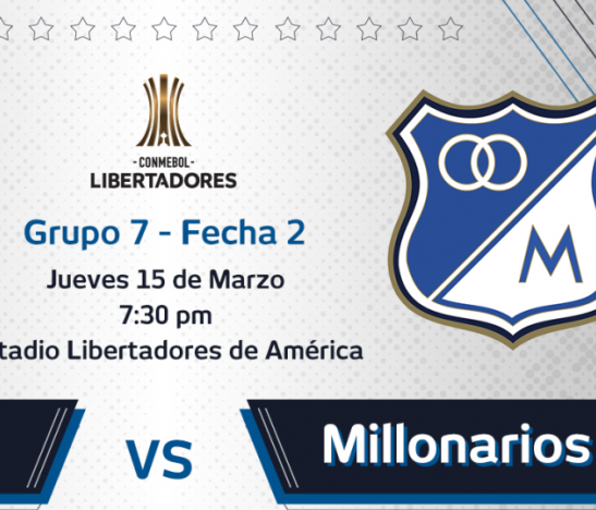 Milllonarios vs Independiente