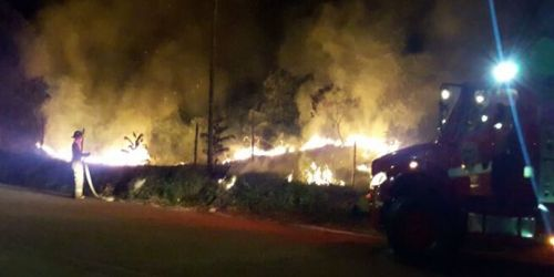 Incendio vegetal  Chaparral